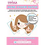 Tovaa Acne Cover Spot Patch, Hydrocolloid Bandages Acne Zit Spot Treatment Absorbing Master Patch, (2 Sheets-48 Individual Patches)