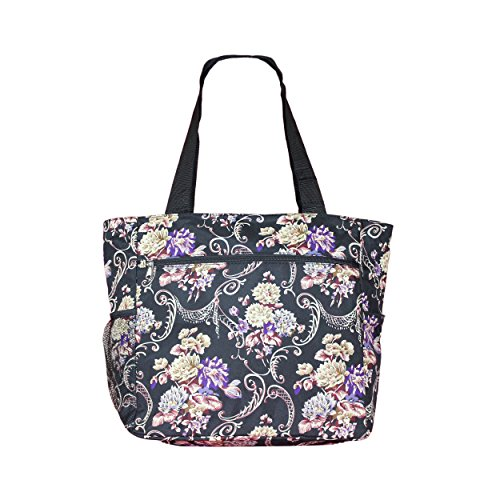 Tote Beach Womens Travel Large Print Floral Bag Shopper Classic Weekender School Gym fqACwA