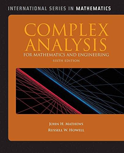 Complex Analysis for Mathematics and Engineering (International Series in Mathematics)