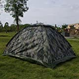 Outdoor Camping Camouflage Hiking Folding Tent 4 Person