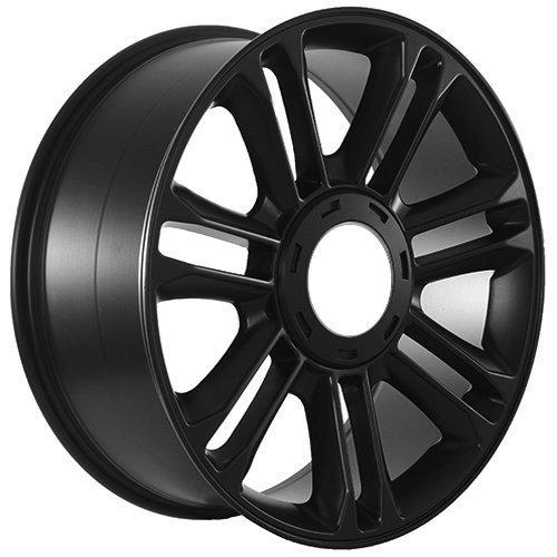 Amazon Com 24 Wheels For Cadillac Escalade Yukon Set Of Four Black