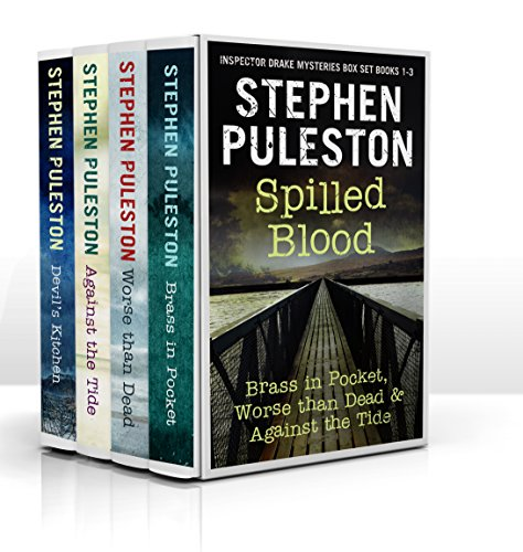 Spilled Blood: Inspector Drake Mysteries Box Set Book 1-3 cover