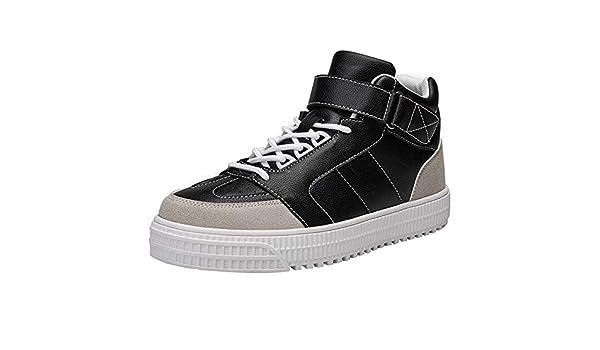 9e0119d05185e Zapatillas Running Hombre Deportivas Hombre Ofertas Botas De Tobillo  Inferiores Gruesos Cómodos De La Moda De Los Hombres Zapatillas De Deporte  Zapatos ...