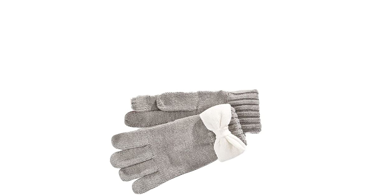 Kate Spade New York Colorblock Bow Gloves One Size)