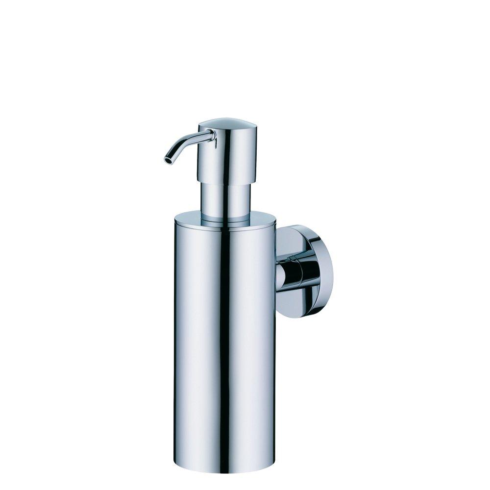 Kela Shower Soap Dispenser, Wall Mounted Brass Collection, Chrome