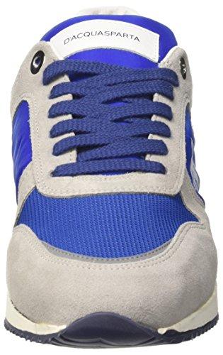 Cosimo Grigio Perla Sneaker Bluette a D'Acquasparta Basso Collo Uomo d1z1wxU
