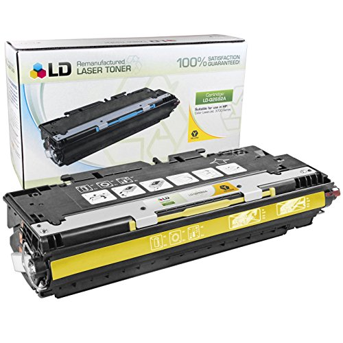 Hp Q2682a Replacement - LD Remanufactured Toner Cartridge Replacement for HP 311A Q2682A (Yellow)