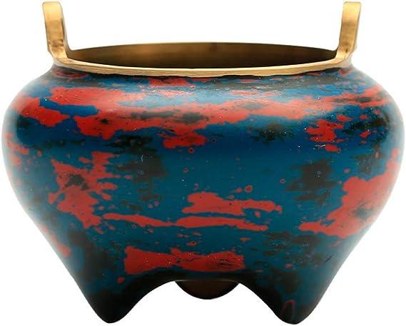 芳香器・アロマバーナー 純銅香炉ホームインテリアライン香ミニオフィス装飾レトロな装飾品専用します アロマバーナー芳香器