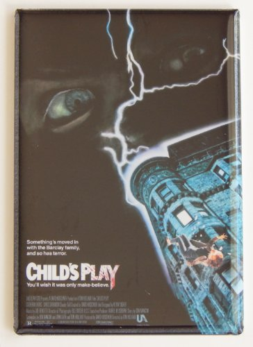 Child's Play Movie Poster Fridge Magnet (2 x 3 inches)