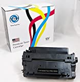 #2: TTP Brand Premium New Compatible Hewlett Packard CE255A (HP 55A) Toner Cartridge Replacement for HP Laser jet P3015 P3015dn P3015n P3015x Printer , 6,000 pages