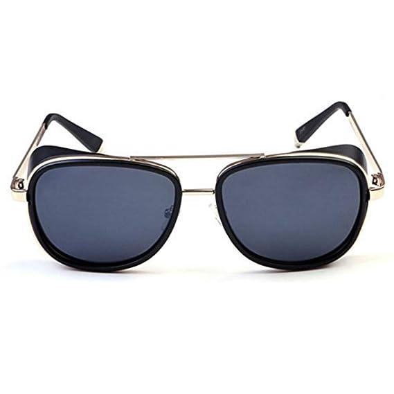 Reiko Gafas de sol Steampunk Gafas de sol unisex con gafas ...