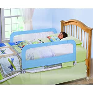 Summer Infant Sure and Secure Double Bedrail, Blue (Discontinued by Manufacturer)
