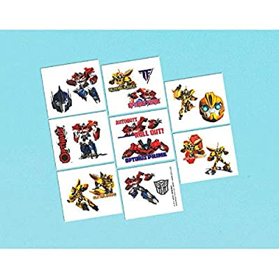 Transformers Tattoos, Party Favor: Toys & Games