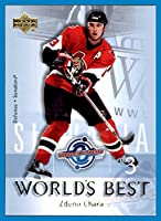 2004-05 Upper Deck World's Best #WB20 Zdeno Chara ottawa senators now with Bruins