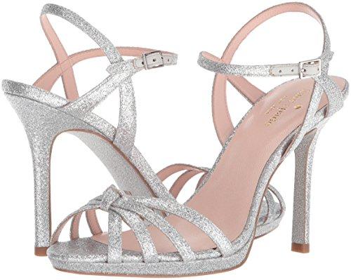 Kate Spade New York Women's Florence Heeled Sandal, Silver Thin Glitter, 7 Medium US by Kate Spade New York (Image #5)