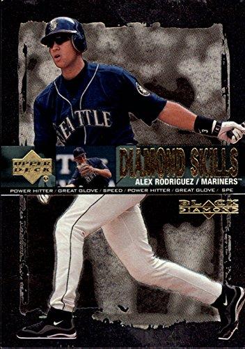 2000 Black Diamond Rookie Edition (2000 Black Diamond Rookie Edition Skills #S1 Alex Rodriguez Card)