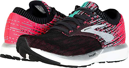 Brooks Women's Ricochet Pink/Black/Aqua 9.5 B US