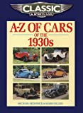 img - for Classic and Sports Car Magazine A-Z of Cars of the 1930s book / textbook / text book