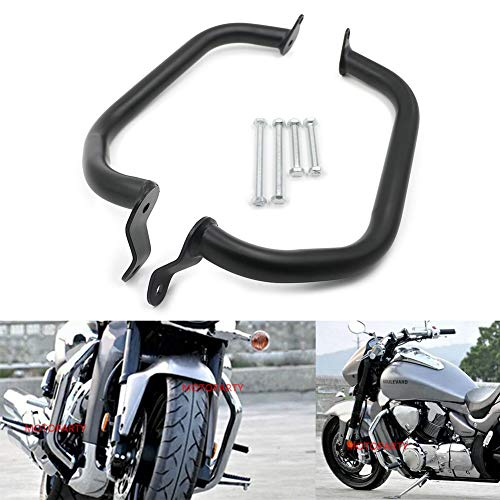 Motoparty Engine Bumper Guard Crash Protector bar For Suzuki Boulevard  M109R M1800R VZR1800 Engine Crash Bar Protector Guard 2006-2017