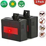 ZZC Animal Repeller,Predator Eye Solar Deterrent Light Waterproof Nocturnal Animals Predator Control for Farm Garden Yard Animal Deterrent for Dogs Deer Foxes Birds Owls Skunks Rodent Mouse- 2 Pack