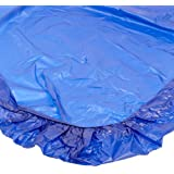 Kwik-Cover 3072PK-B 30'' X 72''  Kwik-Cover-Blue Fitted Table Cover (1 full case of 50)