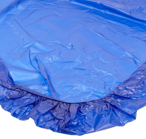 Kwik-Cover 3072PK-B 30'' X 72''  Kwik-Cover-Blue Fitted Table Cover (1 full case of 50) (Cover Table Kwik)