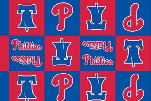 Philadelphia Phillies MLB Baseball Boxes Team Fleece Fabric Print #s6586bf