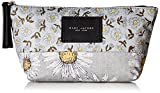 Marc Jacobs Trapezoid B.y.o.t. Mixed Daisy Flower Cosmetics Case, Grey/Multi