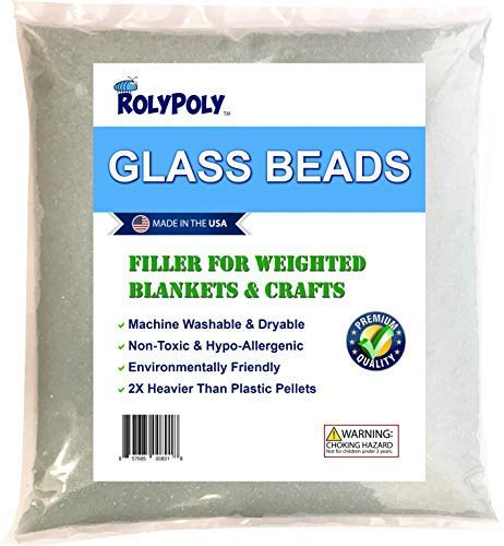 Glass Beads for Weighted Blankets & Crafts (10 LBS)