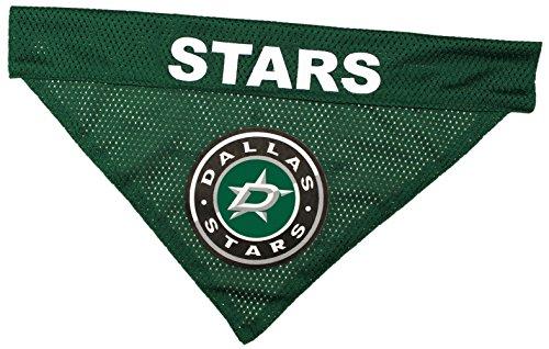 (NHL Dallas Stars Bandana for Dogs & Cats, Small/Medium. - Cute & Stylish Bandana! The Perfect Hockey Fan Scarf Bandana, Great for Birthdays or Any Party!)