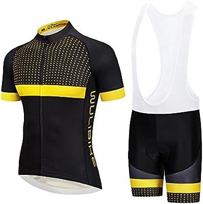 3b646a9761a4 logas Completo Abbigliamento Ciclismo Uomo Estive Magliette Ciclismo  Maniche Corte + Pantaloncini Ciclismo Uomo Abbigliamento Ciclismo MTB