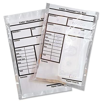 Amazon com: 236006920 MMF Cash Transmittal Bag - 6