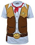Cowboy Costume Tee (slim fit) T-Shirt Size XL