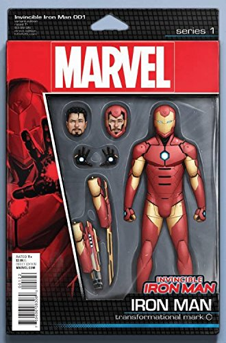Price comparison product image Invincible Iron Man #1 Action Figure Variant