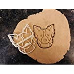 Border Collie Cookie Cutter and Dog Treat Cutter - Dog Face 3