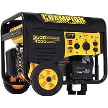 Champion Power Equipment Model 46565 3,500-4,000 Watt Remote Start Portable Gas-Powered Generator (Not For Sale in California)