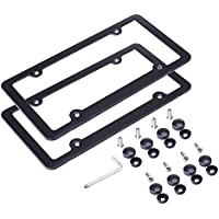 L-Fine License Plate Frame Aluminum Alloy
