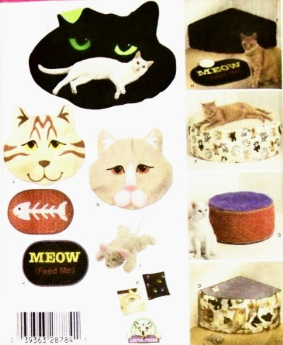 Simplicity Pattern 4765 ~ Cat Beds & Accessories ()