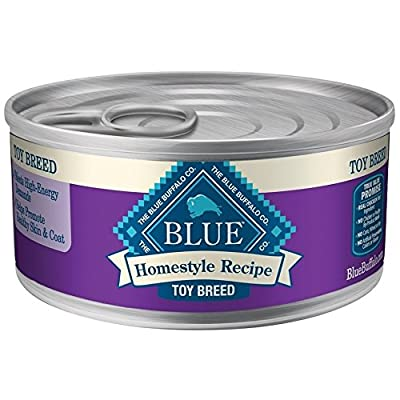 Blue Buffalo Homestyle Chicken Dinner with Garden Vegetables for Toy Breed Canned Dog Food