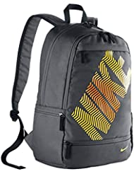 NIKE CLASSIC LINE BACKPACK Dark Grey/Black/Laser Orange