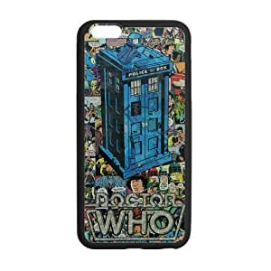 Doctor Who TARDIS Comic Collage Art Case Custom Durable Hard Cover Case for iPhone 6 - 4.7 inches case - Black Case