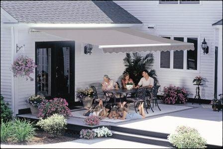 12 ft. SunSetter Awning, Motorized Retractable Awning ...
