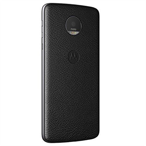 Moto Mod Style Shell for Motorola Moto Z Phone Case (Black Leather) … by Marstak
