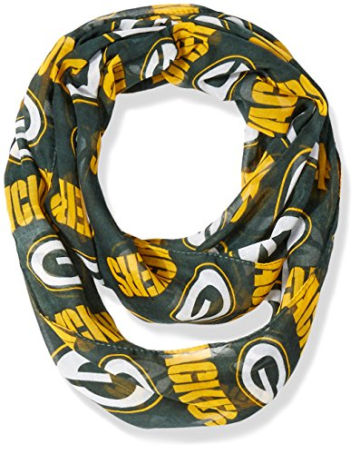 Green Bay Packers 2016 Team Logo Infinity Scarf