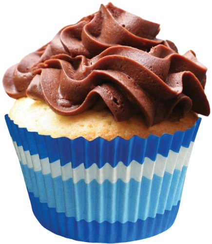 Cupcake Creations Jumbo Baking Cups, 24 Count, Blue ()