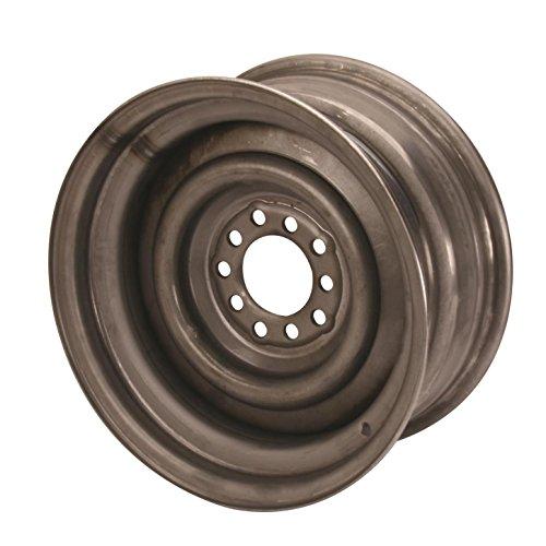 Speedway Motors Smoothie 15×7 Plain Steel Wheel, 5 on 4.5/4.75, 4.0 BS