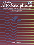 ATF145 - Solos for Alto Saxophone - 41 Recital Pieces with Piano Accompaniment