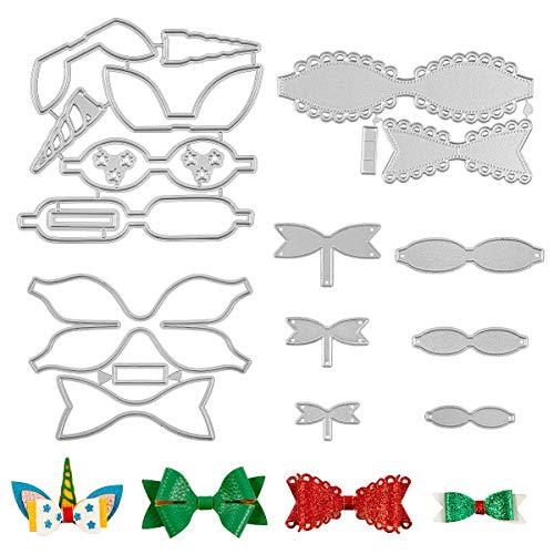 6 Set Bow Tie Cutting Dies
