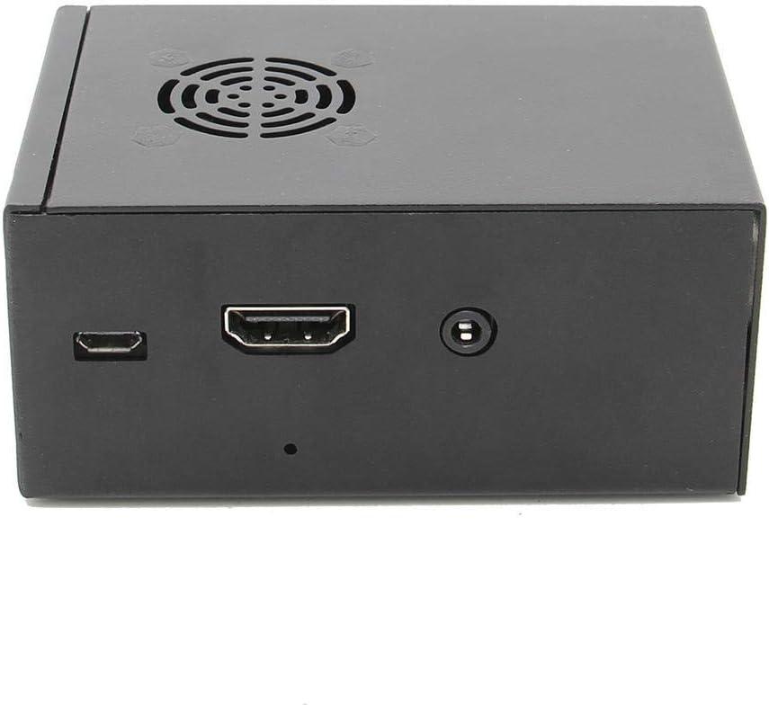 Nrthtri smt X850 V3.0 MSATA Expansion Board Metal Case with Cooling Fan Kit for Raspberry Pi 3 Model B+//2B//3B Board