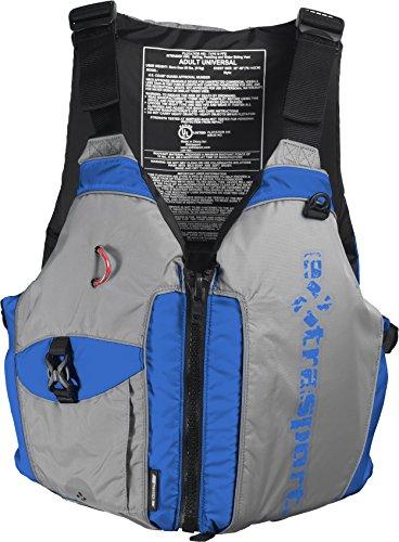 Extrasport Elevate Life Jacket, French Blue/Grey, Universal